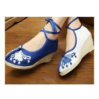 Old Beijing Embroidered Cloth Shoes Breathable