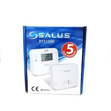 SALUS RT510RF PROGRAMMABLE WIRELESS ROOM THERMOSTAT RT510RF NEW