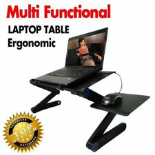 Laptop Table Portable Foldable Multifunctional Computer Stand with Mouse Holder