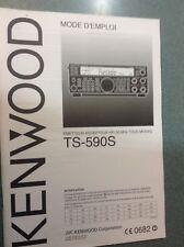 Kenwood TS-590S manuel en Français NEUF