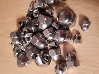 M5 5mm Stainless Steel Dome Nuts A4  -  Cap / Acorn Nuts - Quality New Item