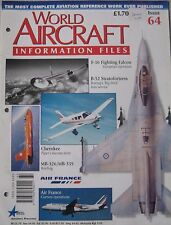 World Aircraft Information Files Issue 64 Aermacchi MB-326/339 cutaway & poster