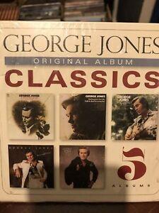 George Jones Original Album Classics 5CD Box Set