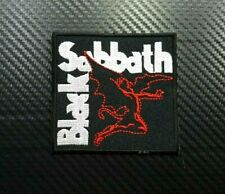Black Sabbath Rock Metal Music Punk Band Pop Embroidered Iron Sew On Patch Logo