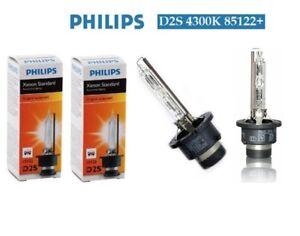 2 x NEW PHILIPS D2S 4300K XENON BULBS LAMPS VW OPEL AUDI BMW MERCEDES Warranty