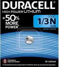 10 x Duracell 1/3N 3V Lithium Batteries DL1/3 N CR13N CR1-3N 2L76 Christmas