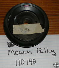 Toro Wheel Horse Mower Deck Center Double Pulley #110148