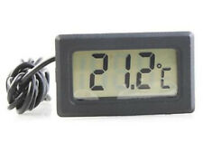 New Mini LCD Outdoor Indoor Digital Thermometer with Probe Aquarium Pond Tank PC