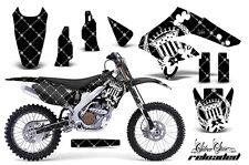 KAWASAKI KXF 250 Graphic Kit AMR Racing # Plates Decal Sticker Part 06-08 RLB