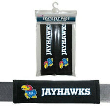 Kansas Jayhawks Seat Belt Pads 2 Pack [NEW] Car Seatbelt Shoulder NCAA CDG