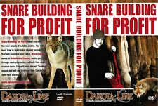 DVD, SNARE BULDING FOR PROFIT snares, trapping traps