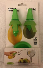 Lekue Silicone Citrus Sprayer Set Includes 2 Sizes