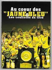 DVD ASM RUGBY / AU COEUR DES JAUNES ET BLEU , LES COULISSES DU TITRE 2010