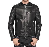 ★ In PELLE 100% o Di Pelle PU ★ Giubbotto Giacca Uomo Men Leather Jacket mdTra2S