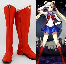Sailor Moon usagi tsukino bunny Cosplay Kostüme rot Schuhe Shoes Stiefel Boots