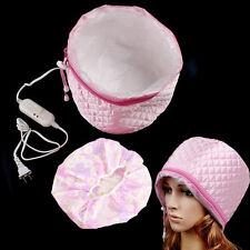 Hair Care SPA Cap Beauty Steamer Hair Thermal Treatment Nourishing Hat +Bath Cap