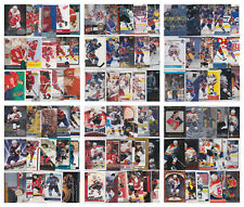 NHL Hockey Player Lots - Choose From List - RCs Inserts (21-30 Cards) LOOK