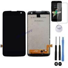 ECRAN LCD + VITRE TACTILE BLOC COMPLET ASSEMBLE POUR LG K4 K120E DUAL 4G NOIR