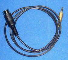 Adapter Kabel Tonabnehmereingang Röhrenradio 3pol. Din auf 3,5mm Klinke mono