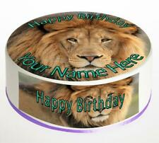Lion Cake Topper; Rice Paper,Icing, Personalised decoration.1033