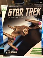 Star Trek Gorn Starship Model with Magazine #86 by Eaglemoss NEW LQQK!!!