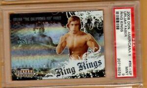 2008 Donruss Americana Ring Kings Urijah Faber PSA 9 MINT UFC MMA #477/500