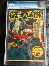 GREEN LANTERN COMICS #15 CGC FN- 5.5; White pg!; classic Reinman nightmare cvr!