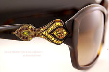 Brand New Judith Leiber Sunglasses JL 1630 Color 02 HAVANA/BROWN Women Authentic