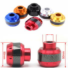Red Motorcycle Scooter Front Fork Frame Sliders Carbon Fiber To Reduce Repair X1