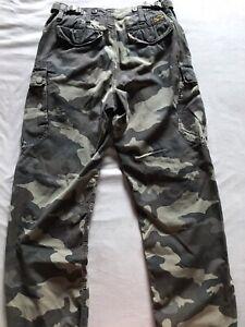 G-Star original Raw Cargo Hose Camouflage, Größe 29/32 gebraucht -