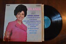 Yolanda Perla Negra Volver Signed Autographed Record lp original vinyl album