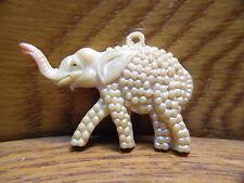 Vintage Plastic Elephant Pendant