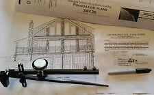 "Log Building Scriber - Orginal ""Bulls-eye Log Home Scriber"" from Montana"