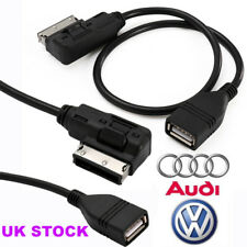 AMI to USB Cable Data Sync Music Interface MDI MMI Charging Adapter For AUDI VW