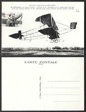 Old Aviation Postcard - France, Airplane - Biplane Sommer, de Petrowski