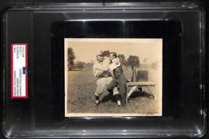 1910s Honus Wagner Original Photograph. Snapshot Photo. PSA Type 1