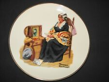 """Norman Rockwell Museum 1984 Memories 6-1/2"""" Collectible Plate Limited Edition"""