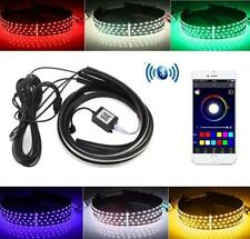 Bluetooth App Controlled LED Neon Light Strips Under Car Kit 12v fits Volvo cars