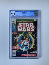 Star Wars #1 1977 Original FIRST PRINT comic- WHITE PAGES JUST ARRIVED CGC 9.2