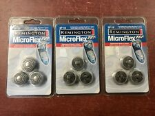 LOT OF 3 REMINGTON MICROFLEX TCT SP-18 REPLACEMENT HEADS & CUTTERS