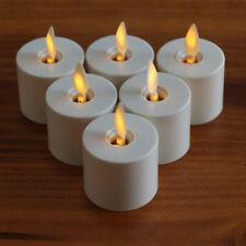 LUMINARA Tea Lights Flameless Electric Candles Wedding Party Home Decor set of 6