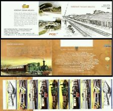 Malaysia Train 2010, Railway, Locomotive, Transport KTM Vehicle (booklet) MNH