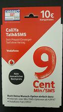 Vodafone Callya Talk & SMS Prepaid Karte ✔ bestes D2-Netz ✔ 10€ Startguthaben ✔