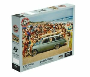 Holden Heritage Beach Vibes 1000 Piece Jigsaw Puzzle 1963 Holden EH Wagon