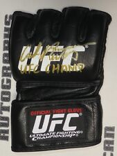 Carlos Newton Signed Official UFC Fight Glove BAS Beckett COA Autograph 31 34 38