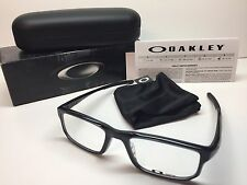 NIB Oakley Voltage Black Ink Frames Rx Eyeglasses OX8049-0253 W/Case 53/19/137