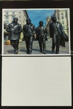 The Beatles Statue Postcard