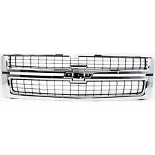 NEW 07 10 FRONT GRILLE FOR CHEVROLET SILVERADO 2500 3500 HD GM1200608 25825521