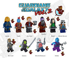 Guardians of the Galaxy 2 Marvel GOTG Movie 10  Minifigures building Toys lEGO