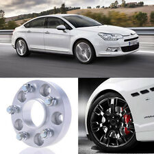 2pcs 25mm Thick PCD 5x108 65.1CB Aluminum Wheel Spacers Adapters For Citroen C5
